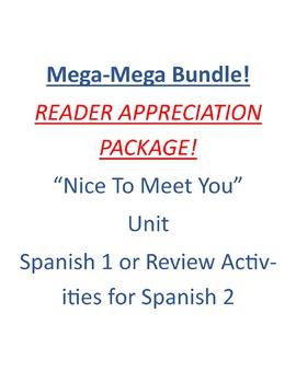 MEGA BUNDLE - NICE TO MEET YOU UNIT!
