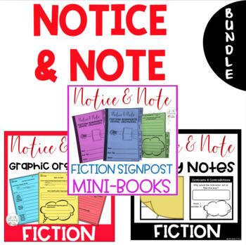 Notice and Note FICTION Signposts MEGA BUNDLE