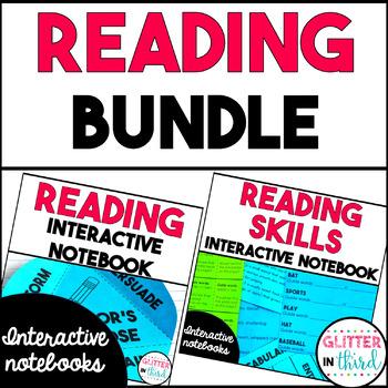 Reading Interactive Notebook BUNDLE - Strategies & Skills