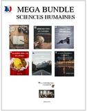 MEGA BUNDLE Sciences humaines, French immersion, français