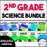 2nd Grade Science Interactive Notebook Bundle