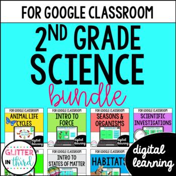 MEGA BUNDLE Second-Grade Science for Google Drive & Google