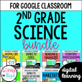 MEGA BUNDLE Second-Grade Science for Google Drive & Google Classroom