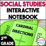 MEGA BUNDLE Second Grade Social Studies Interactive Notebook VA SOL