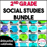 2nd Grade Social Studies Interactive Notebook Bundle
