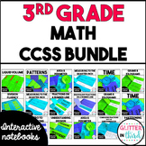 MEGA BUNDLE Third-Grade Common Core Math Interactive Notebook