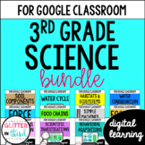 MEGA BUNDLE Third-Grade Science for Google Drive & Google Classroom