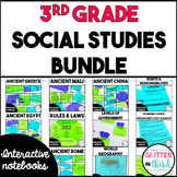 3rd Grade Social Studies Interactive Notebook Bundle