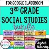 MEGA BUNDLE Third Grade Social Studies for Google Classroom Digital