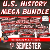 U.S. History MEGA BUNDLE  (Secondary)–SAVE 25% - $$$