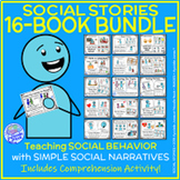 MEGA BUNDLE of 16 Social Stories for Autism Units or Early Elem