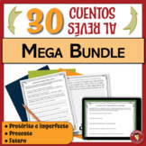 MEGA BUNDLE of Spanish Writing Activities | Past Present &