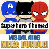 MEGA BUNDLE of Superhero Visual Aids, 18 Products Included!