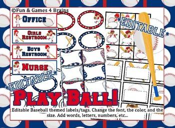 MEGA Baseball Themed Bundle - 8 Products bundled into one!