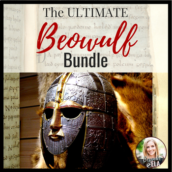 MEGA Beowulf Bundle 25 Lessons And Activities 108 Pages ANSWER KEYS