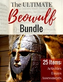 MEGA Beowulf Bundle: 25 lessons and activities/ 108 pages/ ANSWER KEYS!