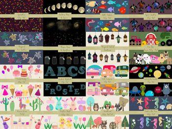 MEGA Bundle of Clip Art Elements, 52 Packs bundles into 1 listing, 905 Graphics.