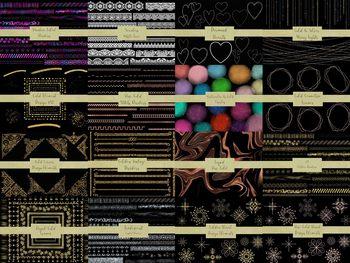 MEGA Bundle of Design Elements, 58 Packs bundles into 1 listing, 1,240 Elements.