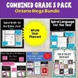 MEGA Bundle of Ontario Grade 5 Resources