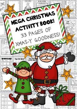 MEGA CHRISTMAS ACTIVITY BOOK - Fun AND Educational!