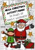 MEGA CHRISTMAS ACTIVITY BOOK - Fun AND Educational! #christmasinjuly