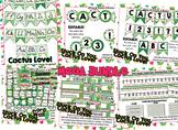 MEGA Cactus Themed Bundle- alpha banner, name plates, banner, number line