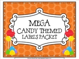 MEGA Candy Theme Label's Pack