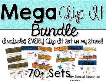 MEGA Clip It *Growing Bundle* ALL CLIP It sets