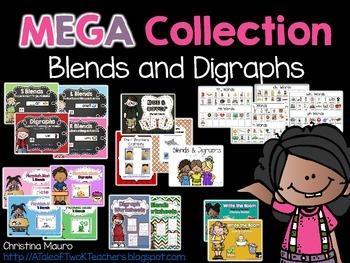 MEGA Collection {Blends & Digraphs}