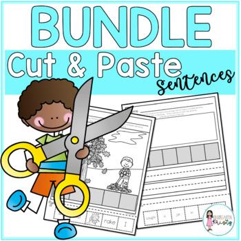 MEGA Cut and Paste Sentences Bundle