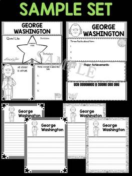 MEGA DEAL BUNDLE : 45 US Presidents Graphic Organizer Sets + 2 Extras