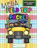 MEGA Field Trip Packet (EDITABLE!) - 1000 follower freebie!