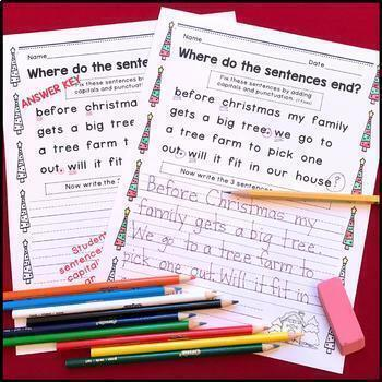 MEGA GROWING BUNDLE Where do the sentences end? FREE SAMPLE