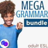 MEGA Grammar BUNDLE for ESL and Secondary
