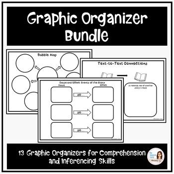 MEGA Graphic Organizer Bundle FREEBIE!
