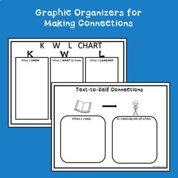 Graphic Organizer Bundle for Comprehension FREEBIE!