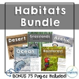 Animals and Habitats Bundle: Ecosystems and the Animals th