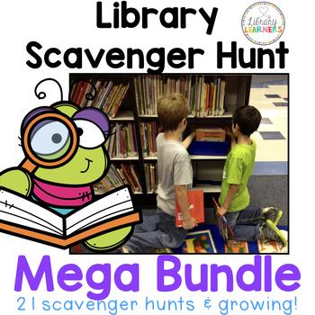 MEGA Library Scavenger Hunt Bundle