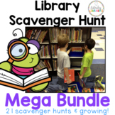 Library Scavenger Hunt MEGA Bundle