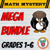 MEGA MRS. J's MATH MYSTERY BUNDLE (GRADES 1 - 6)