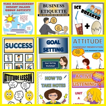 MEGA, MEGA BUNDLE 1st Week Back to School Lessons, Worksheets and Fun Activities