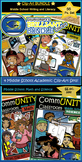 MIDDLE SCHOOL BUNDLE! 4 Clip-Art Sets in 1! 4 Subjects, 122 pc!!