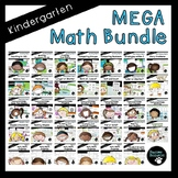 MEGA Math Bundle (Kindergarten, Standards-Aligned)