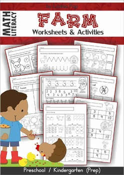 Farm Math & Literacy Worksheets & Activities