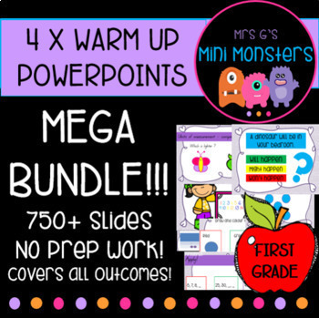MEGA Math Warm Up Bundle!