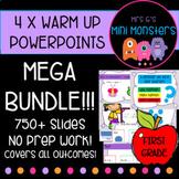 MEGA Math Warm Up Bundle!