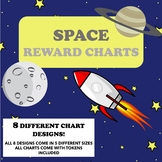 MEGA PACK OF SPACE THEMED REWARD CHARTS