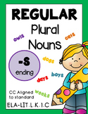 Plural Nouns Worksheets BUNDLE Distance Learning