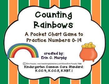 MEGA PACK of Pocket Chart Activities with a St. Patrick's Day Theme