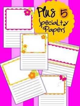 MEGA PINK PACK!  Writing Paper Pack - Writer's Workshop